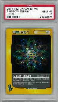 Pokemon JAPANESE VS PSA 10 Rainbow Energy - **24323571**