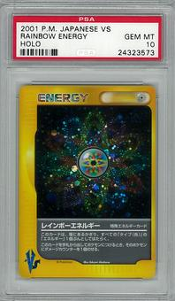 Pokemon JAPANESE VS PSA 10 Rainbow Energy - **24323573**