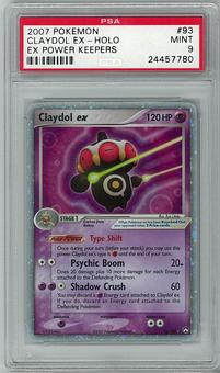 Pokemon EX Power Keepers PSA 9 Claydol EX - **24457780**