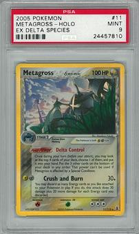 Pokemon Ex Delta Species PSA 9 Metagross 11 - **24457810**