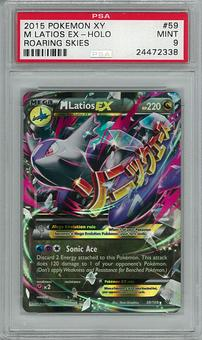 Pokemon Xy Roaring Skies PSA 9 M Latios EX 59 - **24472338**