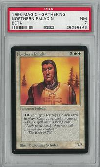 Magic the Gathering Beta Northern Paladin PSA 7 - **25055343**