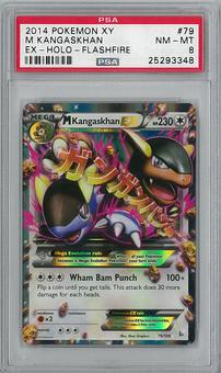 Pokemon XY Flashsire Single M Kangaskhan 79/106 - PSA 8 - **25293348**