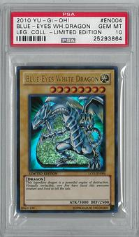 Yu-Gi-Oh Legendary Collection Single Blue-Eyes White Dragon Ultra Rare - PSA 10 GEM MINT - **25293864**