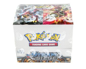 Pokemon XY Steam Siege Theme Deck Box