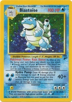 Pokemon Base Set 2 Single Blastoise 2 - SLIGHT PLAY (SP)