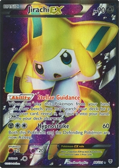 Pokemon Plasma Blast Single Jirachi EX 98 - SLIGHT PLAY (SP)
