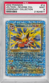 Pokemon Legendary Collection Single Jolteon 14/110 - Reverse Foil - PSA 9 - *21624677*