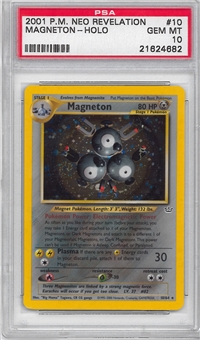 Pokemon Neo Revelations Single Magneton 10/64 - PSA 10 - *21624682*