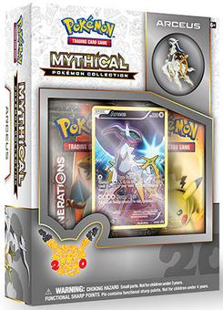 Pokemon: Mythical Pokemon Collection Box (Arceus) (Presell)