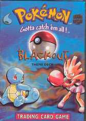 WOTC Pokemon Base Set 1 Blackout Single Theme Deck