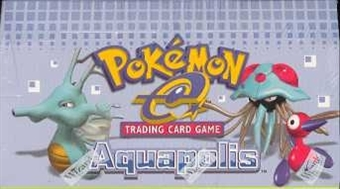 WOTC Pokemon EX Aquapolis Precon Theme Deck Box