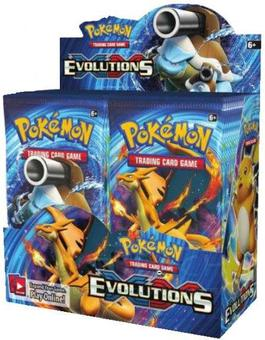 Pokemon XY Evolutions Booster 6-Box Case (Presell)