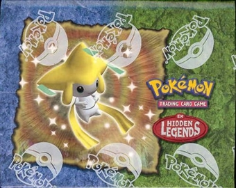 Pokemon EX Hidden Legends Precon Theme Deck Box