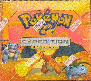 WOTC Pokemon EX Expedition Booster Box
