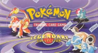 Pokemon Legendary Collection Precon Theme Deck Box