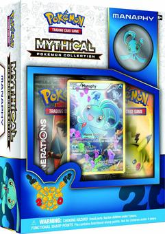 Pokemon: Mythical Pokemon Collection Box (Manaphy) (Presell)