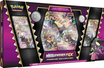 Pokemon Mega Mawile EX Premium Collection Box