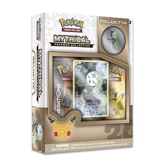 Pokemon: Mythical Collection Box (Meloetta)