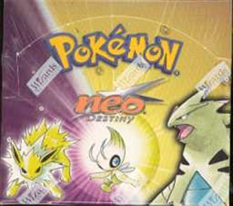 WOTC Pokemon Neo 4 Destiny Booster Box