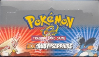 Pokemon Ruby & Sapphire Precon Theme Deck Box