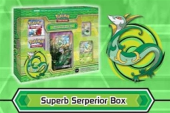 Pokemon Evolution Starter Box - Superb Serperior