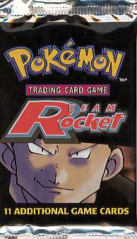 WOTC Pokemon Team Rocket Booster Pack