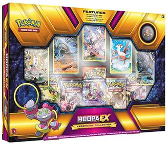 Pokemon Hoopa-EX Legendary Collection Box
