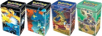 2004 Pokemon EX Holiday Tin