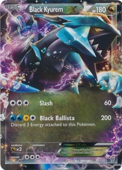 Pokemon Plasma Storm Single Black Kyurem EX Ultra 95/135 - SLIGHT PLAY (SP)