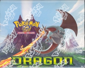 Pokemon EX Dragon Precon Theme Deck Box