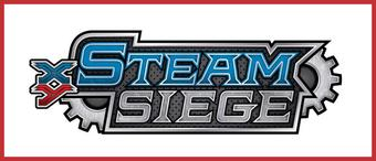 Pokemon XY Steam Siege Booster 6-Box Case (Presell)