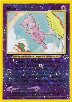 Pokemon Southern Islands Promo Single Mew 1 REVERSE FOIL - SLIGHT PLAY (SP)