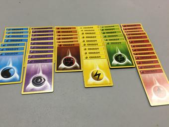Pokemon 50 Shadowless Energy Cards - Near Mint / Slight Play