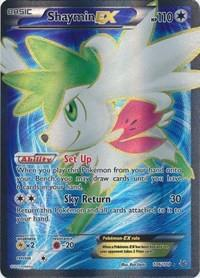 Pokemon Roaring Skies Single Shaymin EX 106/108 - NEAR MINT (NM)