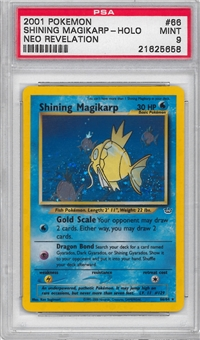 Pokemon Neo Revelations Single Shining Magikarp 66/64 - PSA 9 - *21625658*