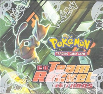 Pokemon EX Team Rocket Returns Booster Box