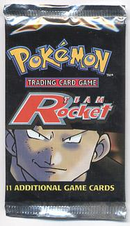 Pokemon Team Rocket Sealed Booster Pack