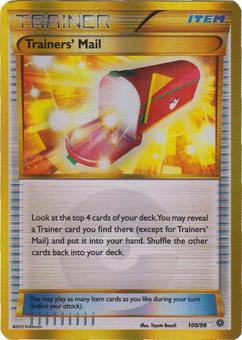 Yu-Gi-Oh XY Ancient Origins Single Trainers' Mail SECRET RARE 100/98 - SLIGHT PLAY (SP)