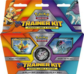Pokemon XY Pikachu Libre & Suicune Trainer Kit Starter Set