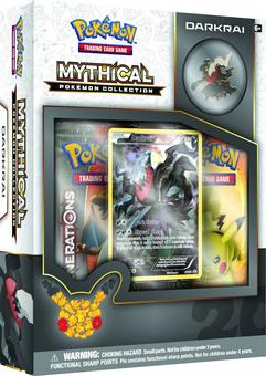 Pokemon: Mythical Pokemon Collection Box (Darkrai)