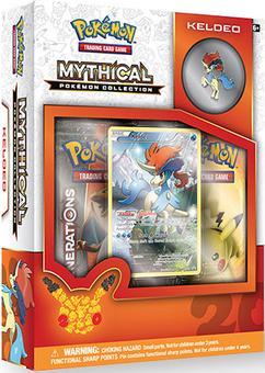 Pokemon: Mythical Pokemon Collection Box (Keldeo) (Presell)