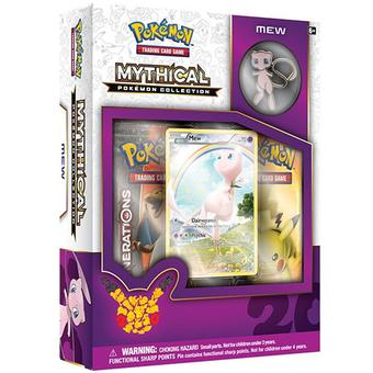 Pokemon: Mythical Pokemon Collection Box (Mew)