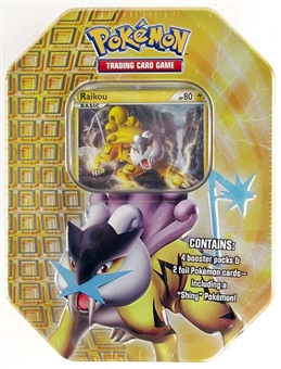 2010 Pokemon Fall Raikou Tin