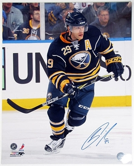 Jason Pominville Autographed Buffalo Sabres 16x20 Hockey Photo