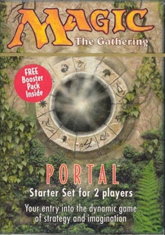 Magic the Gathering Portal 1 2-Player Starter Deck