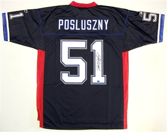 Paul Posluszny Autographed Buffalo Bills Blue Jersey