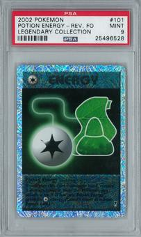 Pokemon Legendary Collection Potion Energy 101/110 Uncommon - Reverse Foil PSA 9