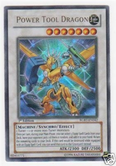 Yu-Gi-Oh Raging Battle Single Power Tool Dragon Ultra Rare