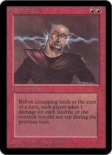 Magic the Gathering Alpha Single Power Surge - NEAR MINT (NM)